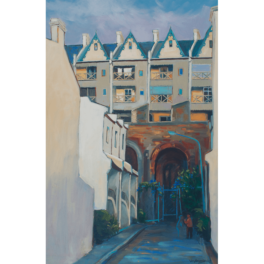 Painting: Potts Point Gables
